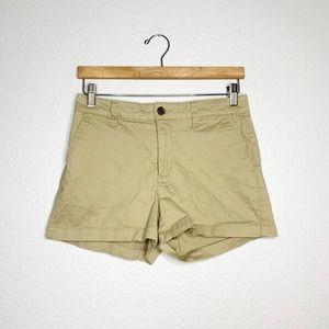A New Day Tan Khaki Stretch Casual Shorts 4